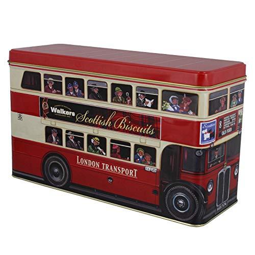 (Walkers Shortbread London Bus Tin Scottish Cookie Assortment, 15.8 Ounces)