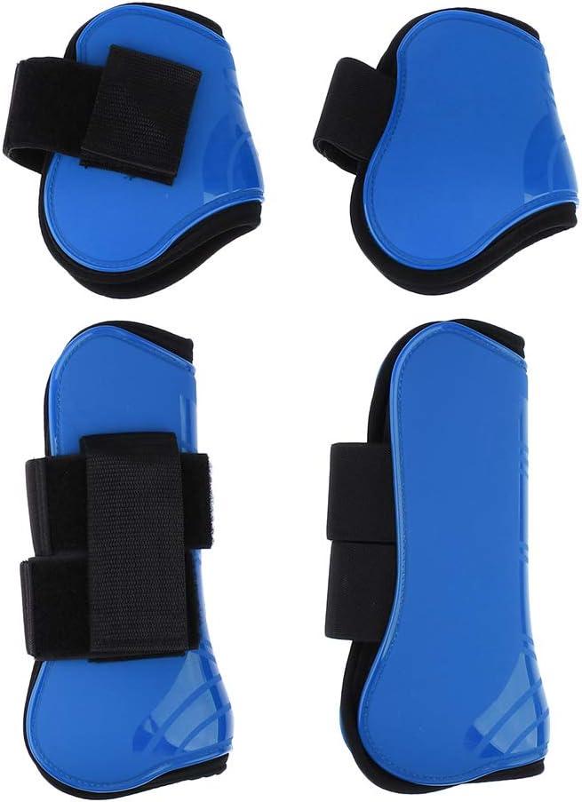 B Baosity 2 Pares Patas de Caballo Botas Frente Trasero Accesorios de Proteccion