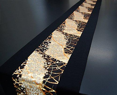 SHINSENDO KIMONO table runner 300x30cm Japanese traditional fabrics Kinran (Pattern name:Miyabi) by SHINSENDO