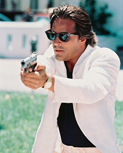 Don Johnson Miami Vice 16x20 Canvas Giclee Sunglasses & - Don Sunglasses Johnson