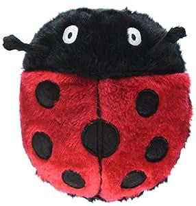 Amazon.com: Petsafe Pogo Plush Ladybug Dog Toy, Small: Pet