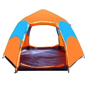 VATHJ Tente de Pluie hexagonale Multi-Personne Double ...