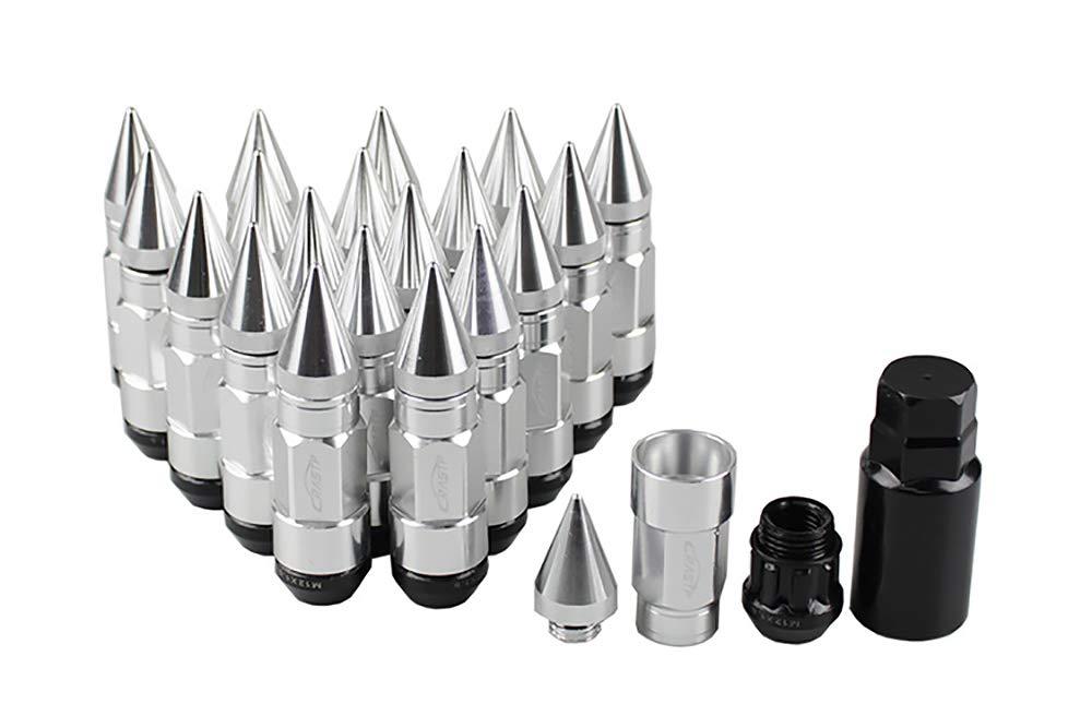 LIDAUTO Radmuttern Rad Muttern Diebstahlsicherungsschraube Kugelkopf Aluminiumlegierung M12 /× 1,5 /≤ M12 /× 1,25 LN007
