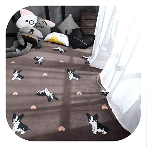 Fluffy Child Carpet Carpets Rug for Living Room Kids Fur Bathroom Shaggy Nordic Home Bedroom Carpet,5,120X190Cm
