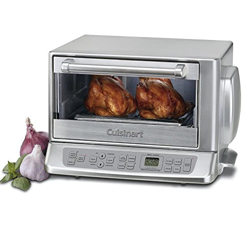 Cuisinart TOB-195FR Stainless Exact Heat Toaster Oven Broiler (Certified Refurbished), Silver (Exact Heat Toaster Oven Broiler compare prices)