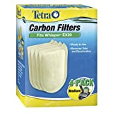 Tetra 26331 Whisper EX Carbon Filter Cartridges,  Medium, 4-Pack