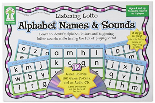 Plays On Words Costumes (Alphabet Names and Sounds Educational Board Game)