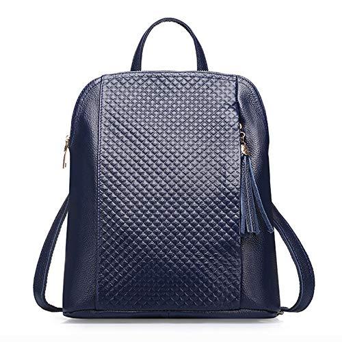 Dos Bag Porté 32cm Cartable Sac Blue Bandoulière 12 Epaule Dos Femme à Sac Sacs Sac Travel 28 Mode à à Main Sac Sac A Cuir ggqRfYnwA