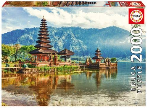 Temple Ulun Danu, Bali, Indonesia 2000 Piece Puzzle