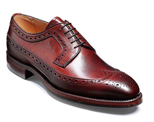 Barker Shoes - Zapatos de cordones para hombre Rojo rojo