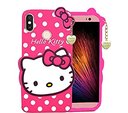 size 40 52d58 82e4f GODRIC Kitty Soft Back Cover for Redmi Note 6 Pro