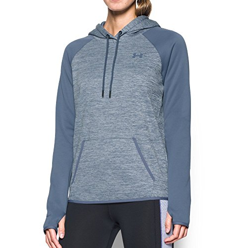 Under Armour Women's Storm Armour Fleece Icon Twist Hoodie, Aurora Purple/Aurora Purple, X-Small (Lightweight Aurora Hoody)