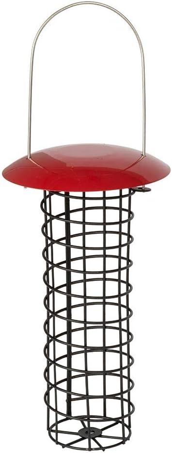 Vivara Meisenkn/ödel-Halter Adelaide Rot 23 cm Mit Dach Metall F/ür 4 Meisenkn/ödel