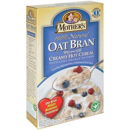 Mother's Oat Bran Hot Cereal, 16 oz (Pack of 6)