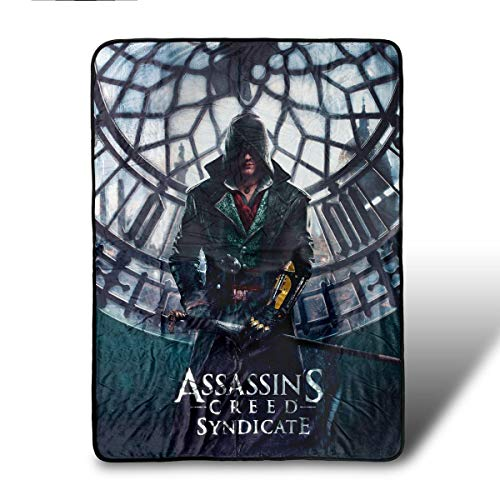 Replica Assassins Creed Costume (Assassin's Creed Syndicate Fleece Blanket )