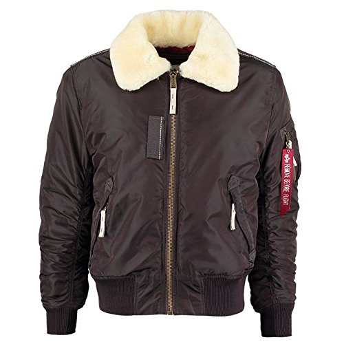 Cappotto Iii Uomo Alpha Brown Vintage Injector fZwHHqn7x