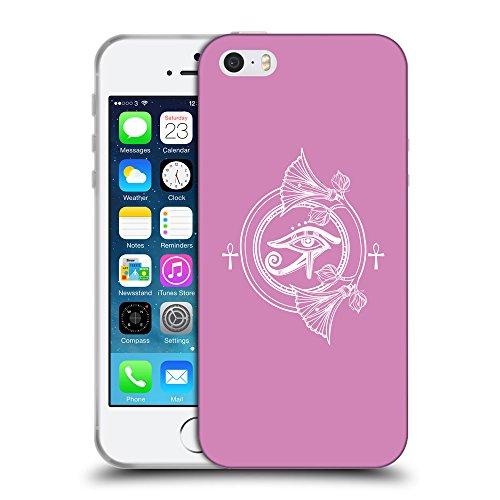 GoGoMobile Coque de Protection TPU Silicone Case pour // Q09880618 Religion 28 Bronze // Apple iPhone 5 5S 5G SE