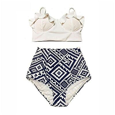 High Waist Swimsuit Bikini Women 2018 Push up Swimwear Female Sexy Bikini Set Beach Wear Vintage Bathing Suit Retro