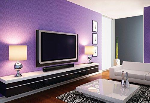 KÖNIG Bluetooth + NFC SOUNDBAR FÜR FERNSEHER TV LAUTSPRECHER SYSTEM 6 Boxen f. SAMSUNG LG Toshiba Medion Loewe KLAVIERLACK SCHWARZ Heimkino HomeCinema Soundsystem