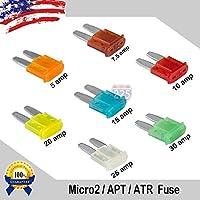 ATL Micro3 Blade Fuse Fuses Car Truck Boat Marine RV LOT