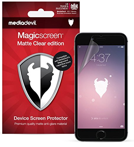 mediadevil-apple-iphone-6-6s-screen-protector-magicscreen-matte-clear-anti-glare-edition-2-x-protect