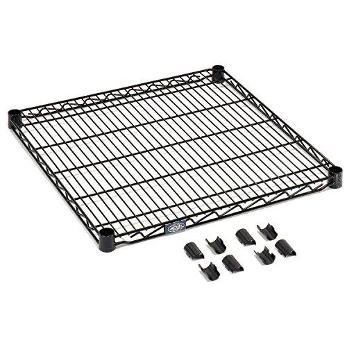 Nexel S1824B Black Epoxy Wire Shelf 24