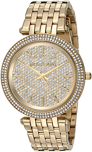 Michael Kors Women's Darci Gold- Tone Watch MK3438