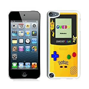 High Quality iPod Touch 5 Case ,Cool And Fantastic Designed Case With Pokemon 2 White iPod Touch 5 Cover