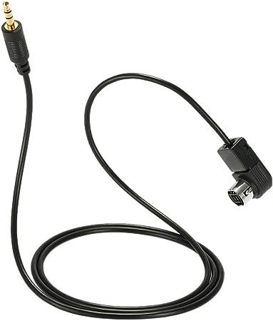 Kkmoon 3 5 Mm Klinke Aux In Adapter Kabel Für Ipod Iphone 5 6 6s 6plus Mp3 Cd Player Musik Radio Interface Für Alpine Auto