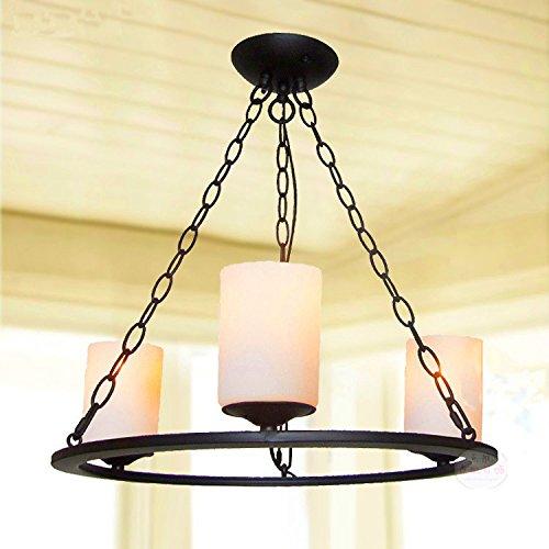 WDBM Lampadari Western villaggio in stile retrò Caffetterie Ristoranti Bar  Lounge lampadari Soggiorno lampadari in ferro