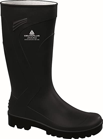 Delta plus botas - Bota trabajo joucas pvc negro talla 46: Amazon.es ...