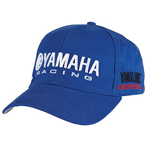 Yamaha Racing Curved Bill Hat