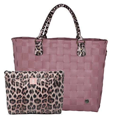 Handed By SafeRi - XL Shopper - rustic pink mit zusätzliche kleine Tasche