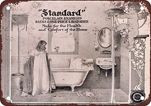 1905 Standard Porcelain Bathroom Fixtures - Vintage Look Reproduction