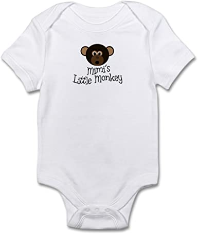 Rompers Creepers Baby boys Little Monkey Bodysuit Clothes Yellow 0-3 mos