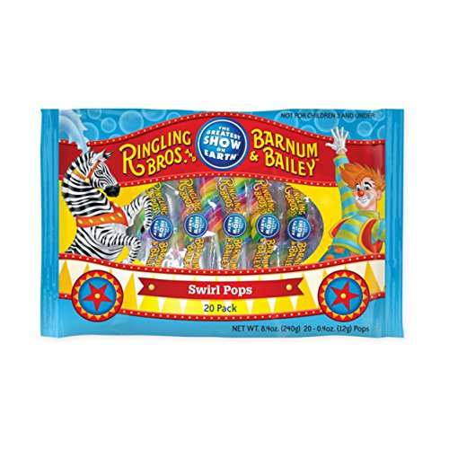 (Ringling Brothers and Barnum & Bailey 20 Pack Lollipop)