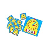 LEARNING RESOURCES WRITE-ON/WIPE-OFF CLOCKS 10/PK (Set of 12)