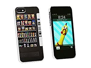 Graphics and More Snacks Chips Candy Vending Machine Snap-On Hard Protective Case for iPhone 6 4.7 - Non-Retail Packaging - White