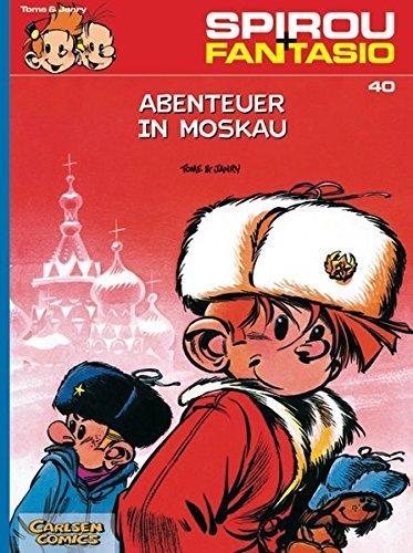 Spirou & Fantasio 40: Abenteuer in Moskau: (Neuedition) Taschenbuch – 22. März 2005 Janry Tome Carlsen 3551772401