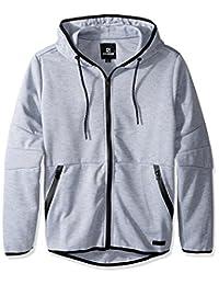 Southpole Mens Men's Tech Fleece Hooded Tops (Full-Zip, Pullover) Hooded Sweatshirt