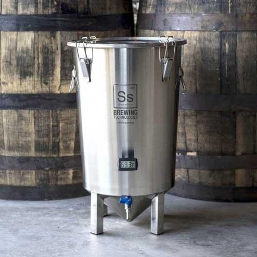 Ss Brewing Technologies BrewMaster Series 7 Gallon Stainless Steel Brew Bucket Fermenter ()