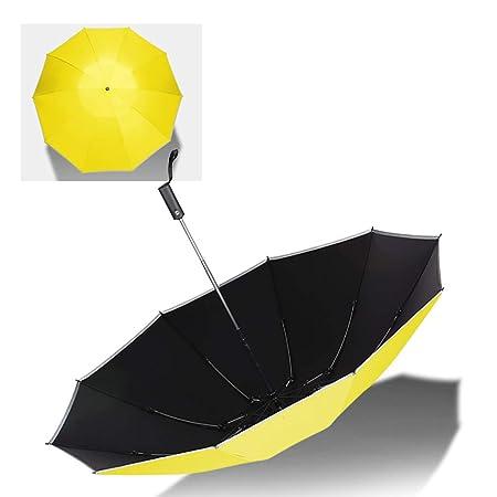 HBJP Paraguas Paraguas del hogar Creativo Paraguas Plegable ...