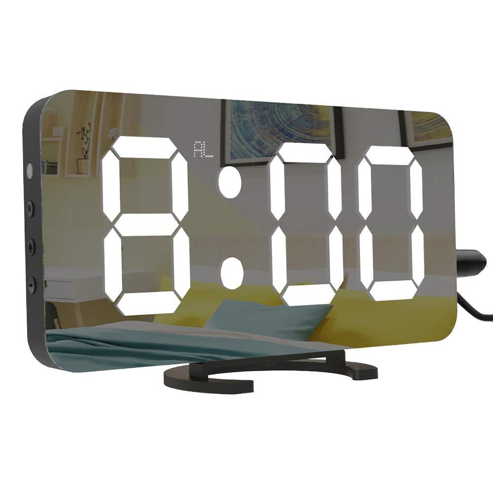 LightBiz Large Display Alarm Clock, Digital Clock