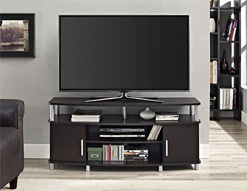 ameriwood home carson tv stand for tvs up to 50 wide espresso buy online in uae. Black Bedroom Furniture Sets. Home Design Ideas