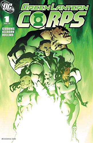 Green Lantern Corps (2006-) #1