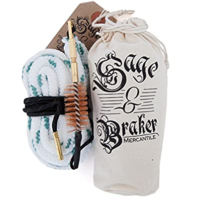 GUN CLEANING KITS by Sage & Braker. Throw away the rods, brushes and patches. One swipe and your gun bore shines like new. Our gun cleaning kits are unmatched in quality and design. Cleaner, faster, period.