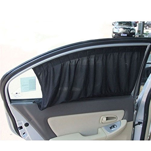 2x Black Adjustable VIP Car Window Windscreen Mesh Style Curtain Sun Shade Visor Kentucky Wildcats Tissue