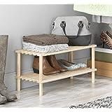 Whitmor 6026-3562 Natural Wood Household Shelves