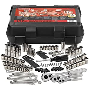 "CRAFTSMAN 137 Piece Mechanic's Tool Set - Model: 9-35137 Includes: 1/4"" Drive Sockets.1/4"" Drive Tools.3/8"" Drive Sockets.3/8"" Drive Tools.1/2"" Drive Sockets.1/2"" Drive Tools.Wrenches.Other Tools."
