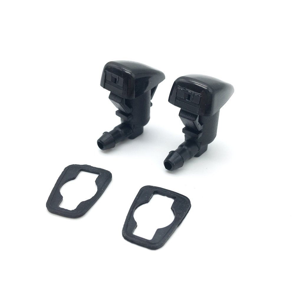 Ford Focus Chrysler 300M Concorde Intrepid Dodge Intrepid GMC Acadia Cadillac SRX Saturn Outlook Chevy Traverse 2 Front Hood Windshield Washer Nozzle Water Sprayer Jet fit for Buick Enclave
